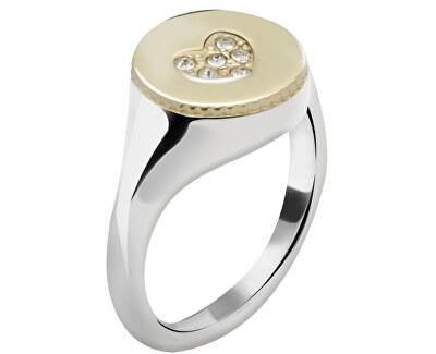 Morellato Ocelový bicolor prsten Monetine SAHQ09