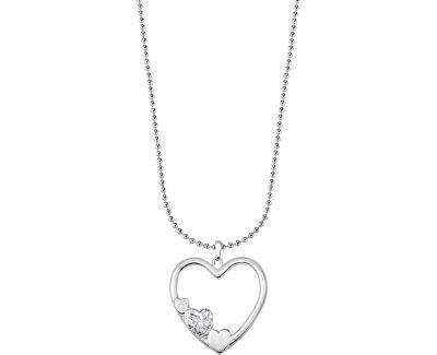 Ocelový náhrdelník Istanti SAIX01 (řetízek, přívěsek)
