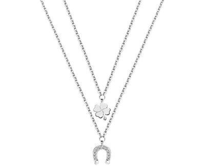 Morellato Ocelový náhrdelník pro štěstí Enjoy AIY02