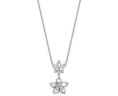 Morellato Ocelový náhrdelník s kytičkami SAJR02
