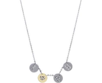 Morellato Colier din oțel cu monede Monetine SAHQ01