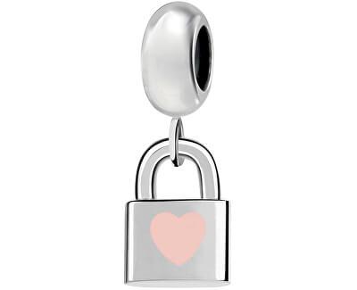 Ocelový přívěsek Drops Bead Heart Locket SCZ952