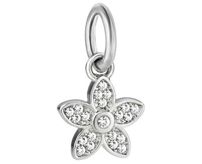 Pandantiv din oțelDrops Charm Flower SCZ712