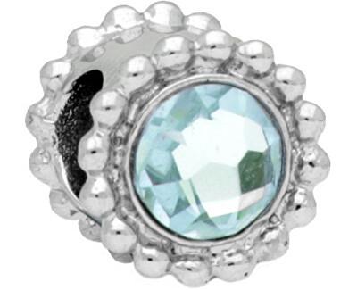 Pandantiv din oțelDrops Crystal Aquamarine SCZ771