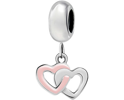 Srdíčkový přívěsek Drops Intertwine Hearts SCZ953