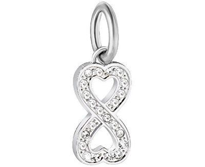 Ocelový přívěsek Drops Infinity Love SCZ912