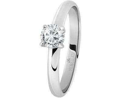Ocelový prsten s krystalem Love Rings SNA42