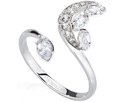 Morellato Ocelový prsten s půlměsícem Luna SAIZ14