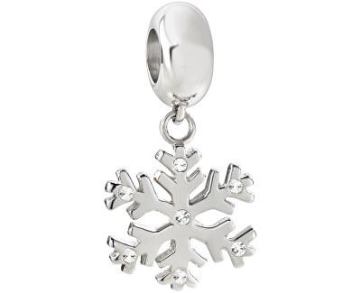 Pandantiv din oțel Drops Charms Snowflake SCZ647