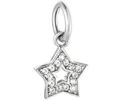 Pandantiv din oțel Drops Charms Star SCZ650