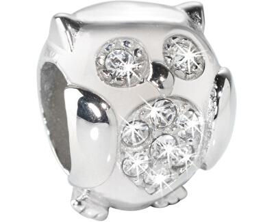 Ocelový přívěsek Drops Owl SCZ288