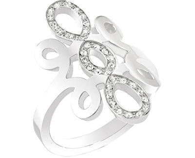 Ocelový prsten Arabesco SAAJ24