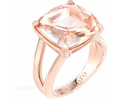 Pozlacený ocelový prsten Fioremio SABK01