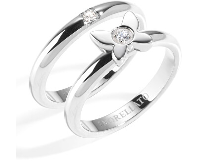 Ocelový prsten Love Rings SNA36