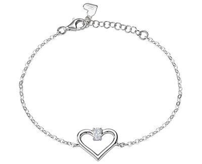 Zamilovaný stříbrný náramek Cuori SAIV25