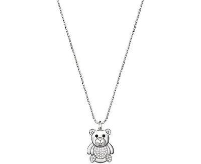 Roztomilý náhrdelník s medvídkem Love SOR27