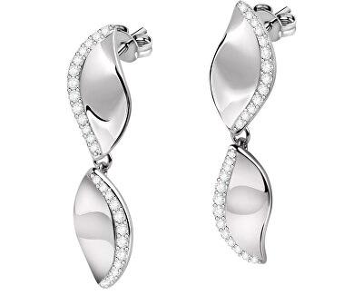 Ezüst fülbevalók Foglia SAKH35
