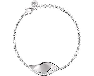 Ezüst karkötő Foglia SAKH37
