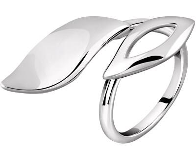 Ezüst gyűrű Foglia SAKH30