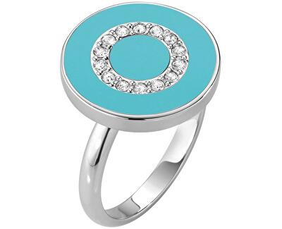 Stříbrný prsten s krystaly Perfetta SALX21