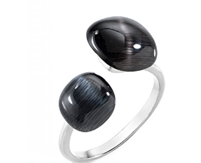 Stylový prsten zdobený kočičím okem SAKK33
