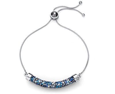 Luxusní náramek s krystaly Full Tuby 32230 BLU
