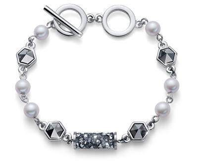 Luxusní náramek s krystaly Tuby 32229