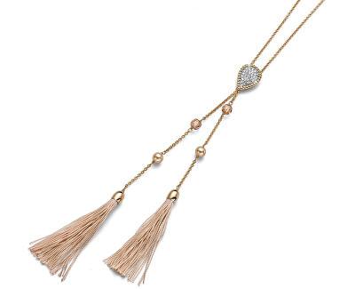 Luxusní pozlacený náhrdelník Like 11780