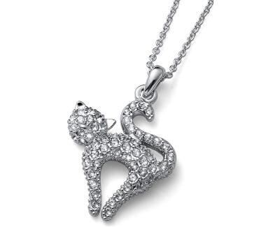Módní náhrdelník Cat Love 11878