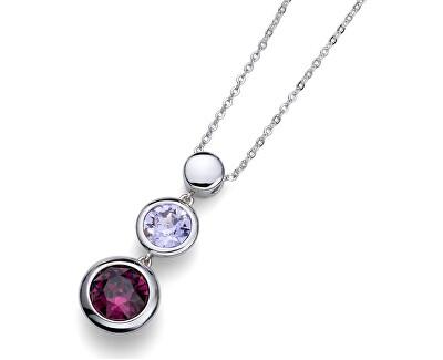 Oliver Weber Colier cu cristale violete de lucru în fiecare 11674 204
