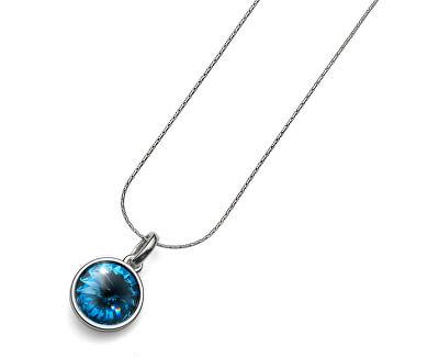 Oliver Weber Náhrdelník s krystaly Swarovski Fun Denim Blue 9350-266