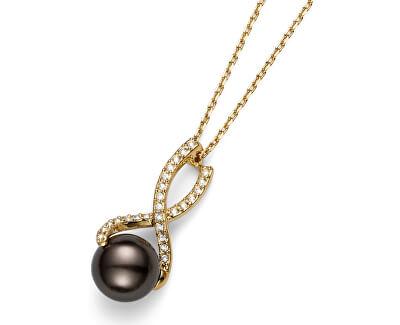 Oliver Weber Colier cu perlă și cristaleWorking Wait 11663G