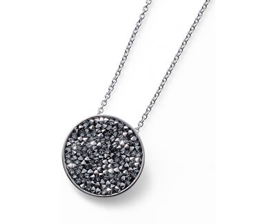 Náhrdelník se sypanými krystaly Extase 11882 SIL