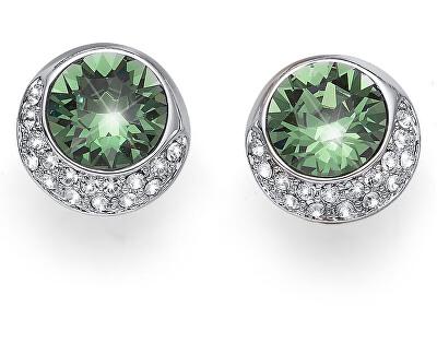 Oliver Weber Náušnice se zelenými krystalem Very 22650R 360