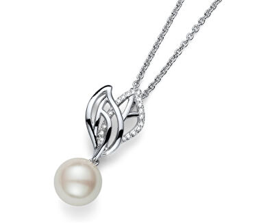 Oliver Weber Colier delicat cu perla Lyra de lucru 11666