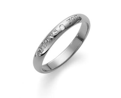 Ocelový prsten Always 41148