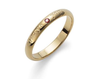 Ocelový prsten Always 41149