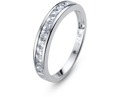Originálne prsteň s kryštálmi Foursquare 63231