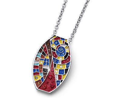 Oliver Weber Pestrobarevný náhrdelník Ocean Art Once 11714