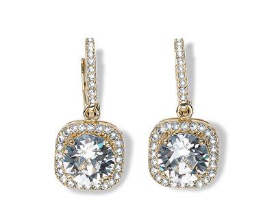 Pozlacené náušnice s krystalem Precioso 22867G 001