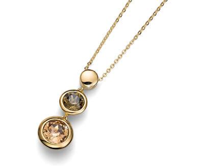 Oliver Weber Colier placat cu aur, cu cristale de lucru în fiecare 11674G