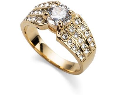 Pozlátený prsteň Working Inspire 41125