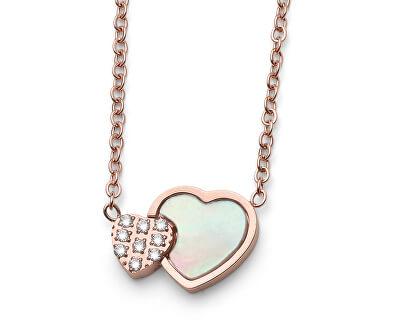 Srdíčkový náhrdelník Let 12070RG