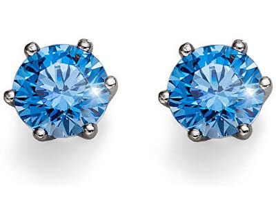 Oliver Weber Cercei de argint cu cristal albastruMorning Brilliance Medium 62066 BLU