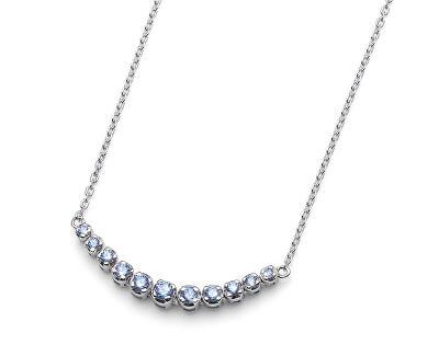 Stříbrný náhrdelník Step large 61153 BLU
