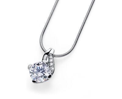 Stříbrný náhrdelník Succes 61139R (řetízek, přívěsek)