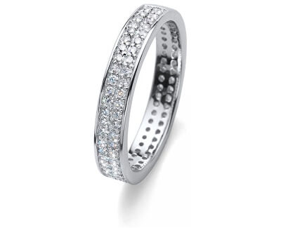 Oliver Weber Stříbrný prsten s krystaly Beach Value 63226