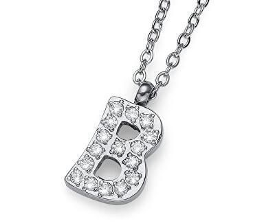 Stylový náhrdelník Initial B 11831