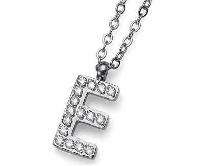 Stylový náhrdelník Initial E 11834