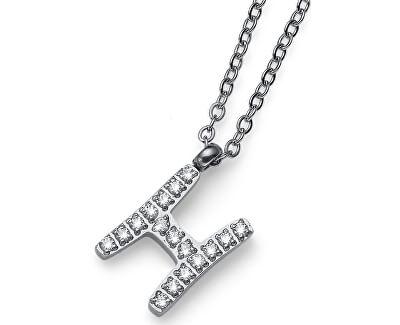 Stylový náhrdelník Initial H 11837